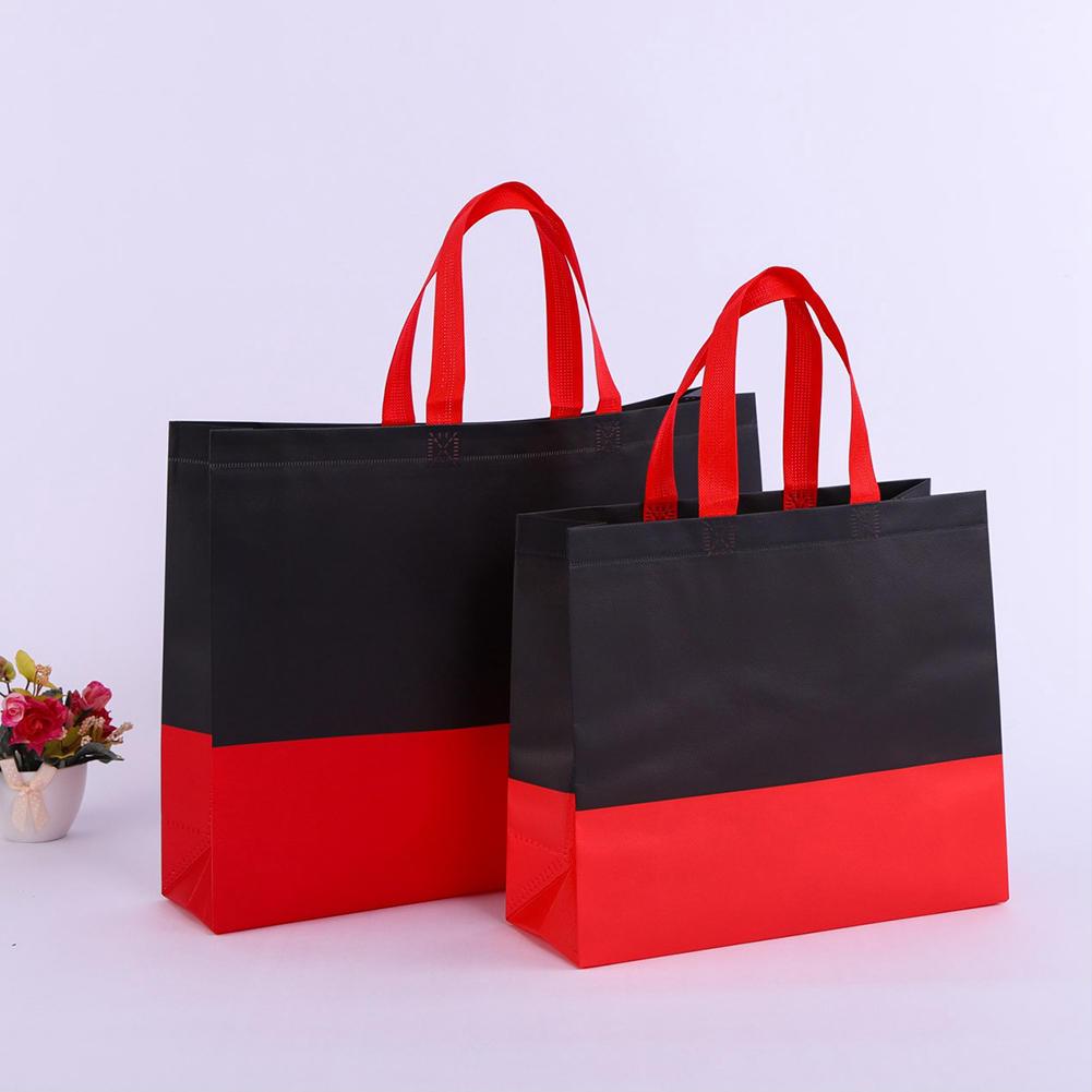 Women Men Reusable Shopping Bag splice ecological reusable bag Foldable Shopping Bag Large Grocery Bags Convenient Storage cloth