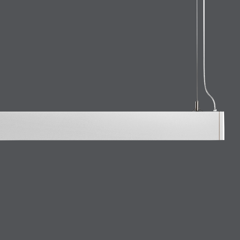 18w led model light long pendant light line pendant lampPC clips led linear light Office CE&ROHS