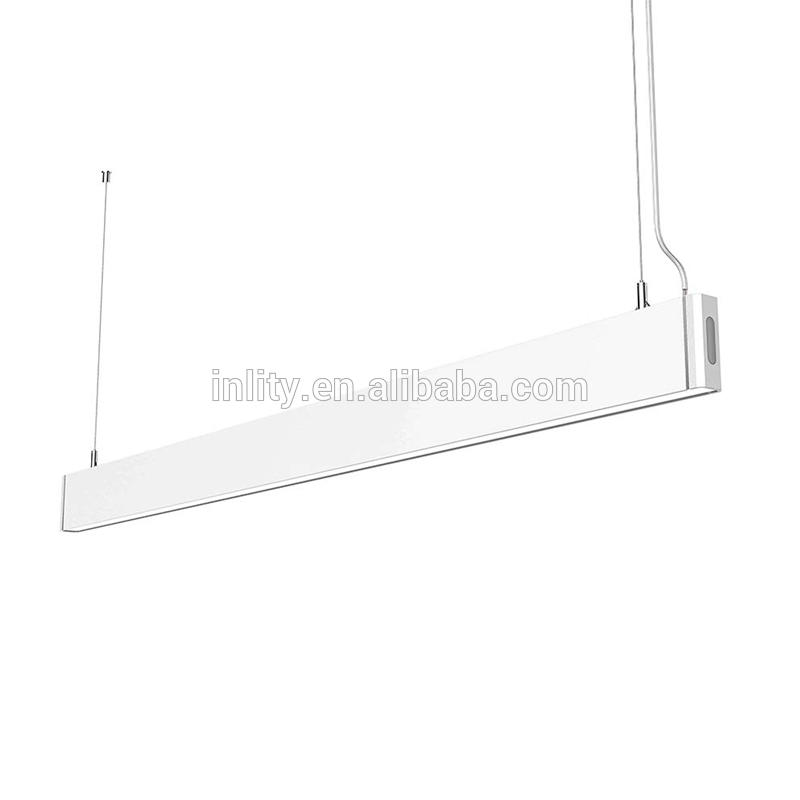 Black or White INLITY CRE30018 1200mm length 18W Slim LED linear high bay light fixture