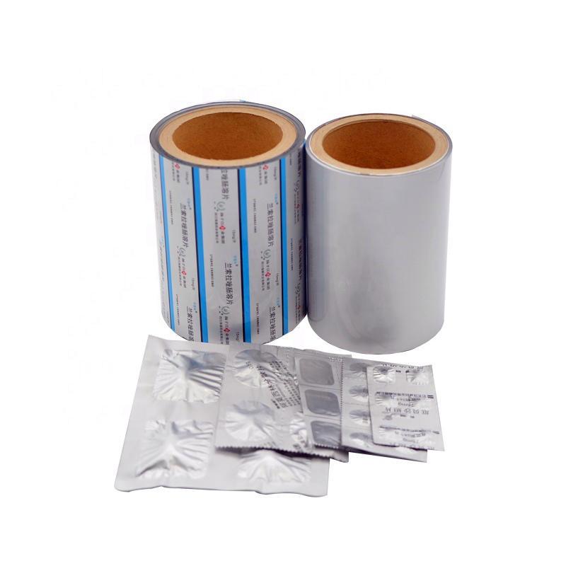 alu alu strip foil for pharmaceutical packaging /alu bottom foil blister