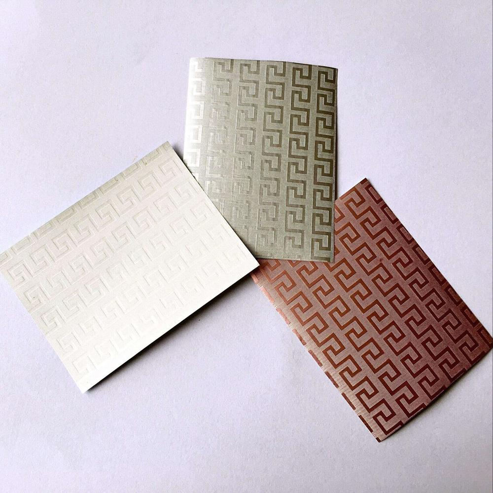 Food grade laminated aluminum foil paper for wrapping chocolate