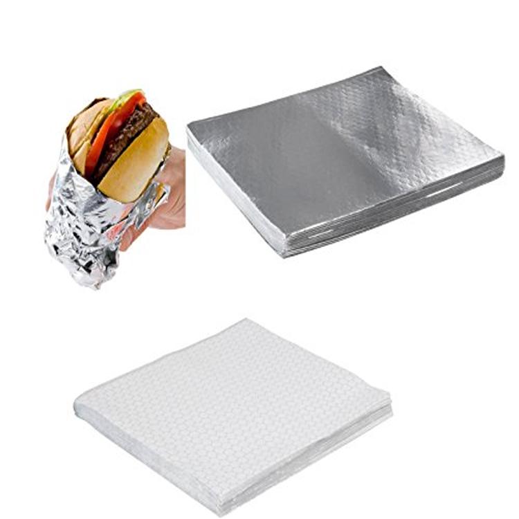 Kolysen customizable aluminium foil paper for sandwich wrapping