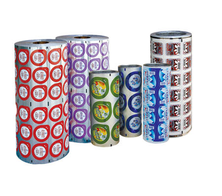 Aluminum Foil Lid for Yoghurt Cup