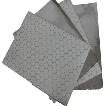 Custom printed hamburger wrapping aluminum foil laminated with paper