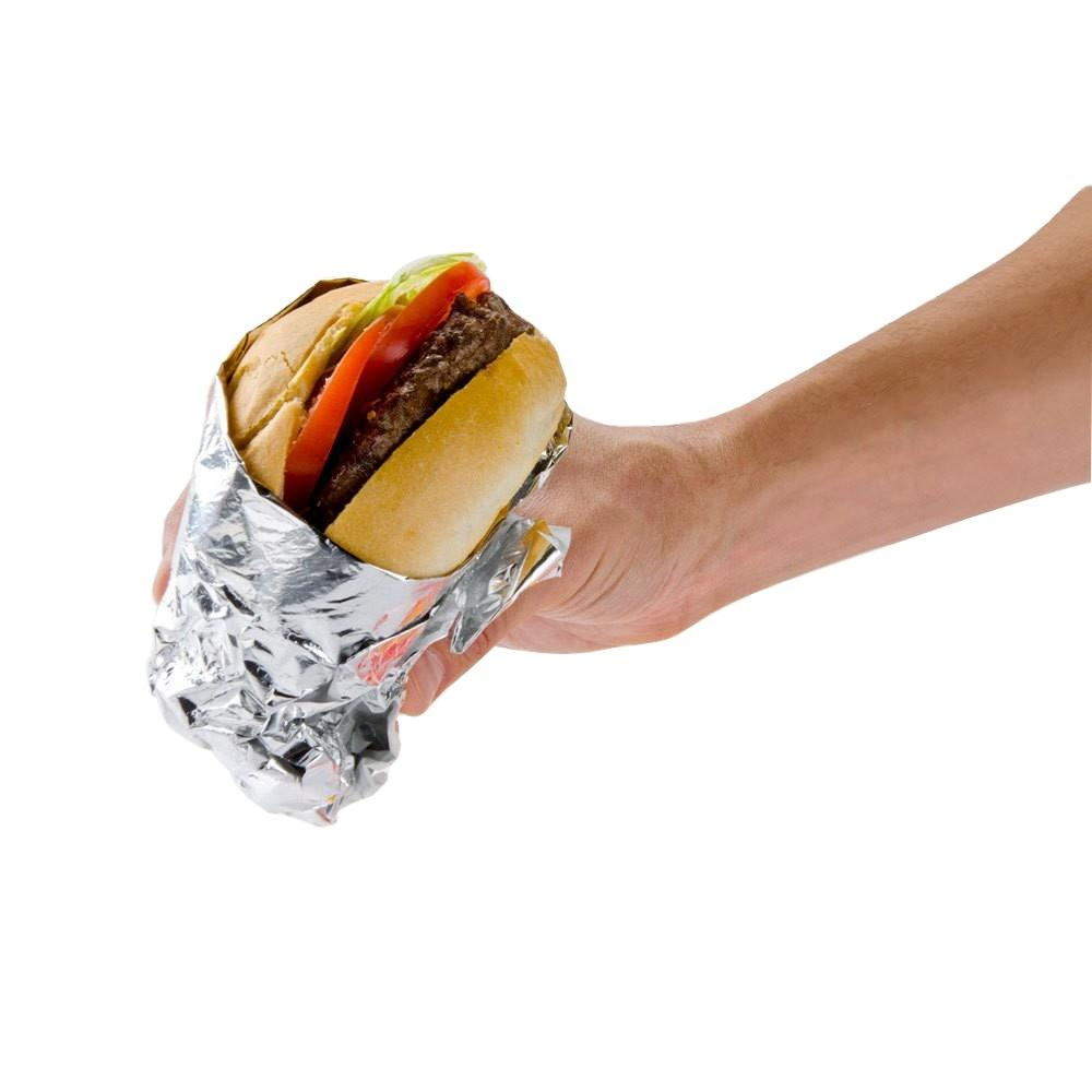 Aluminium foil paper for fast food wrapping