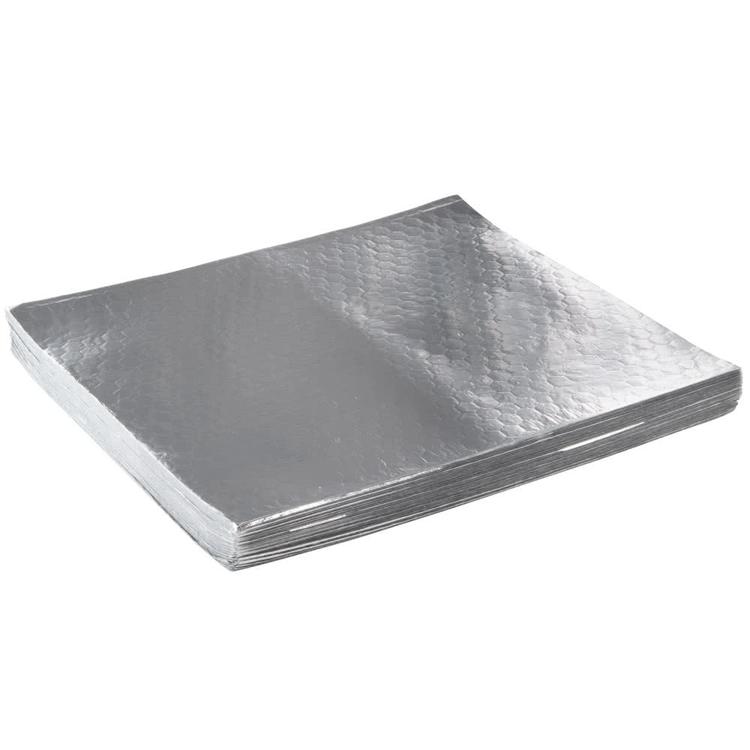 Excellent heat insulation effect honeycomb foil paper