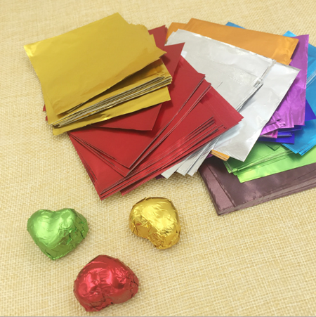 Alloy8011 printable pure aluminum foil for chocolate packing