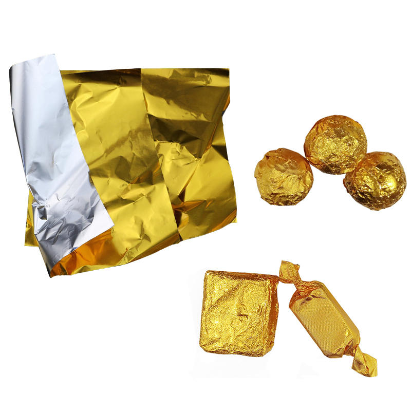 Wholesale Price Food Foil Wrappers for Chocolate Wrapping