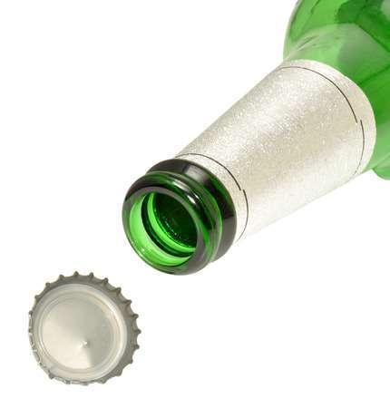 Custom printed waterproof beer label sticker glass bottle beer Aluminum Foil label