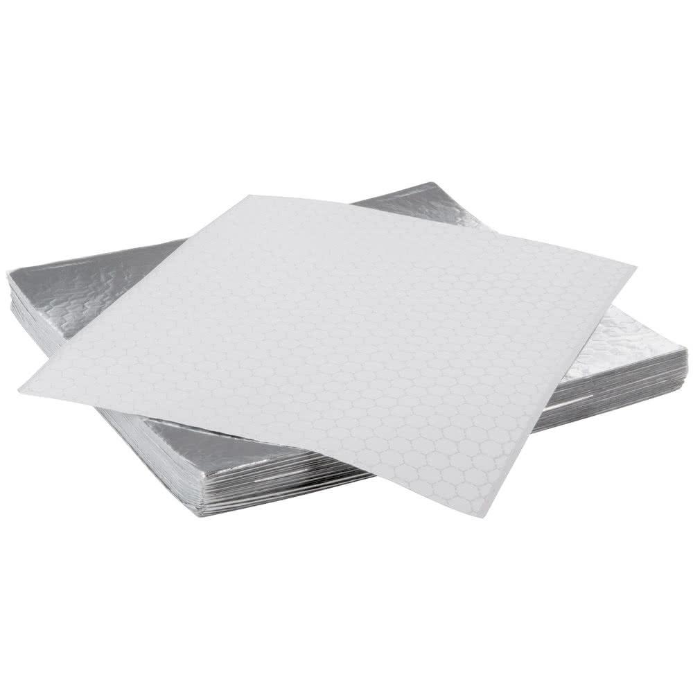 Custom oil- proof hamburger foil paper with honeycomb