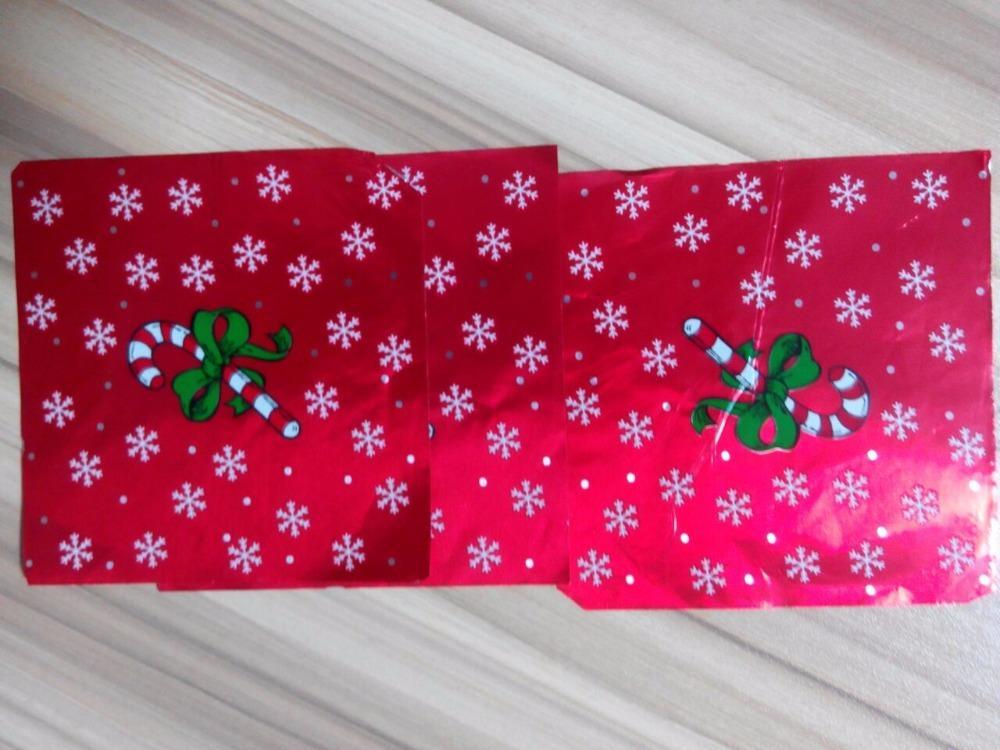 Aluminum Foil for Christmas Chocolate Wrapper