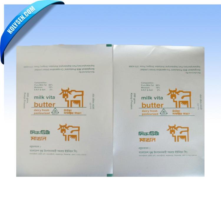 Aluminum Foil Laminated Butter paper