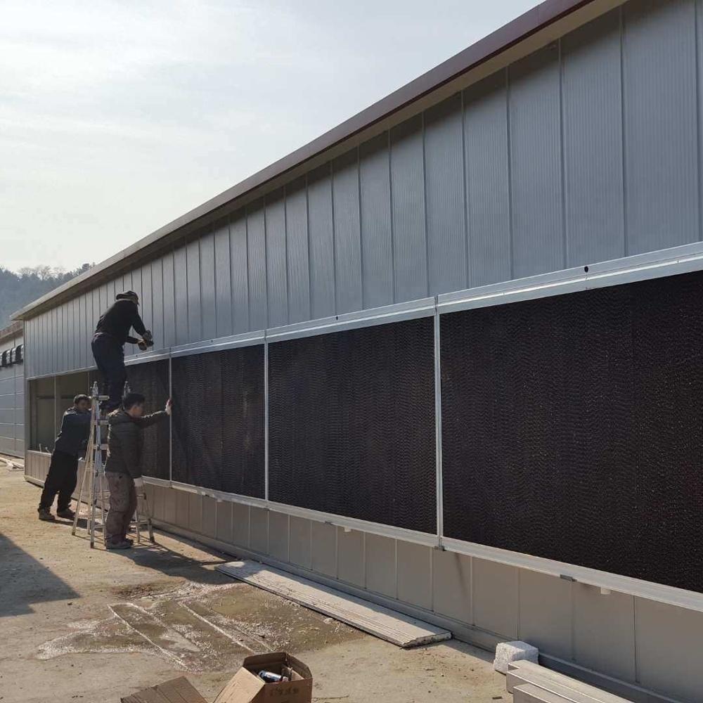 Steel structure poultry farm chicken house design prefab warehouse