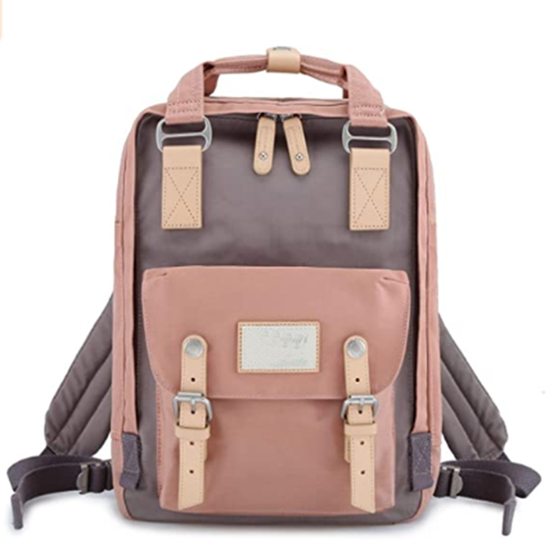 mochilas School Waterproof Backpack College Vintage Travel Bag for Women 14 inch Laptop for Student