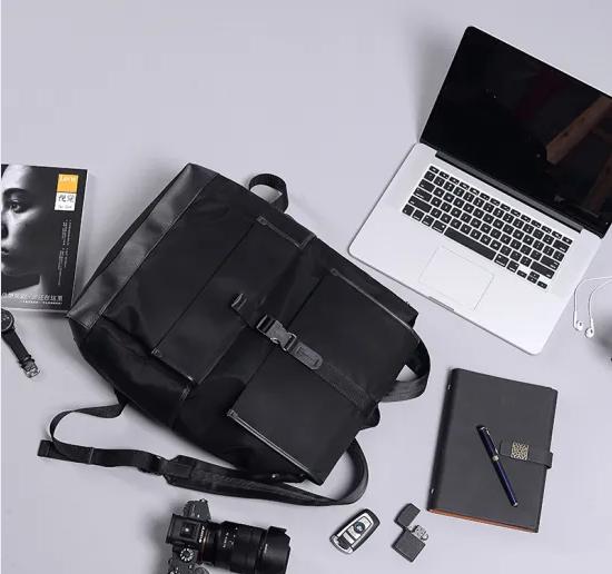 mochilas Custom Waterproof Light Soft Best Leather Fashion Business School Computer Backpack Travel Bag