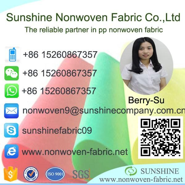 hydrophilic non woven fabric,water-absorbing textile raw materials for diaper making