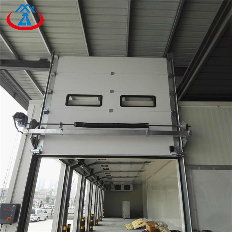 W2500*H3000mm Automatic Double Panel Industrial Lifting/Overhead Door