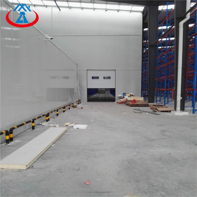 W2500*H3000mm Vertical Lifting Door Sectional Sliding Industry Door