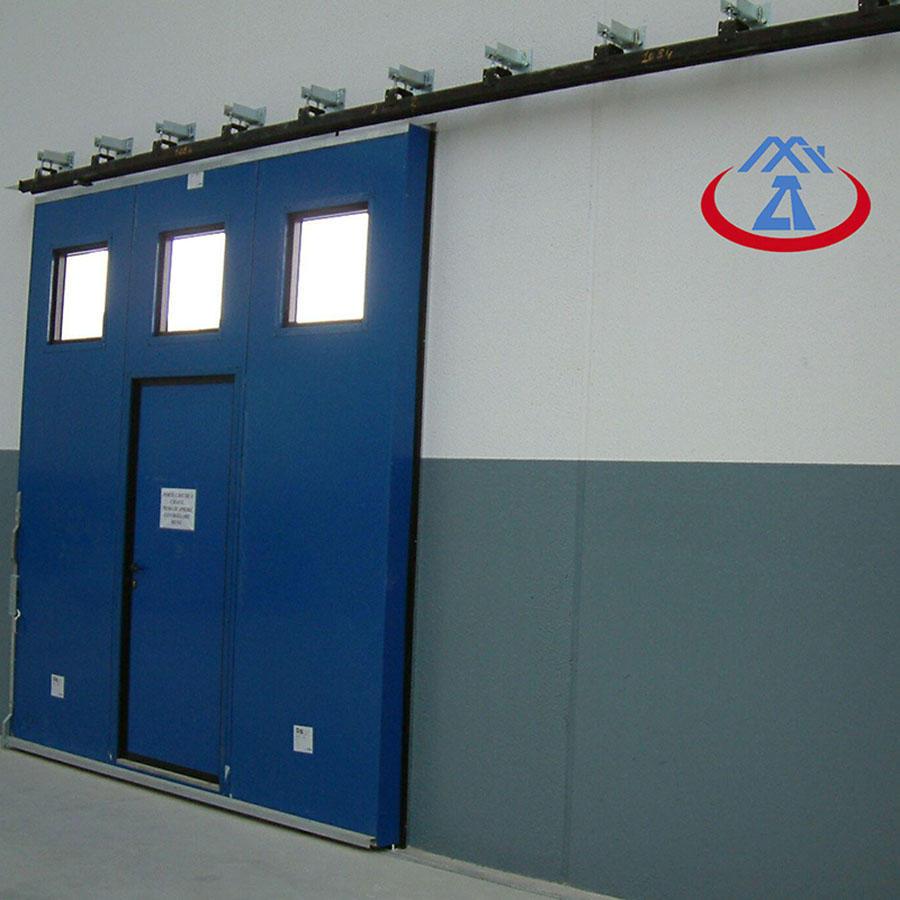 High quality industrial door 40/50mm door panel industrial sliding doors