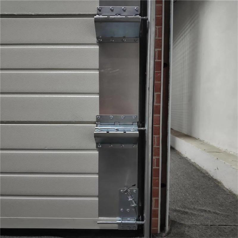Vertical Lift industrial door / sectional garage door With remote control