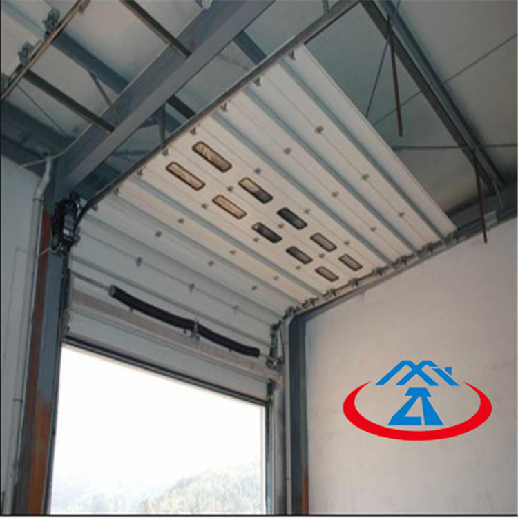 EXW Price Electric Automatic Industrial Overhead Lifting Door Free N95 Mask