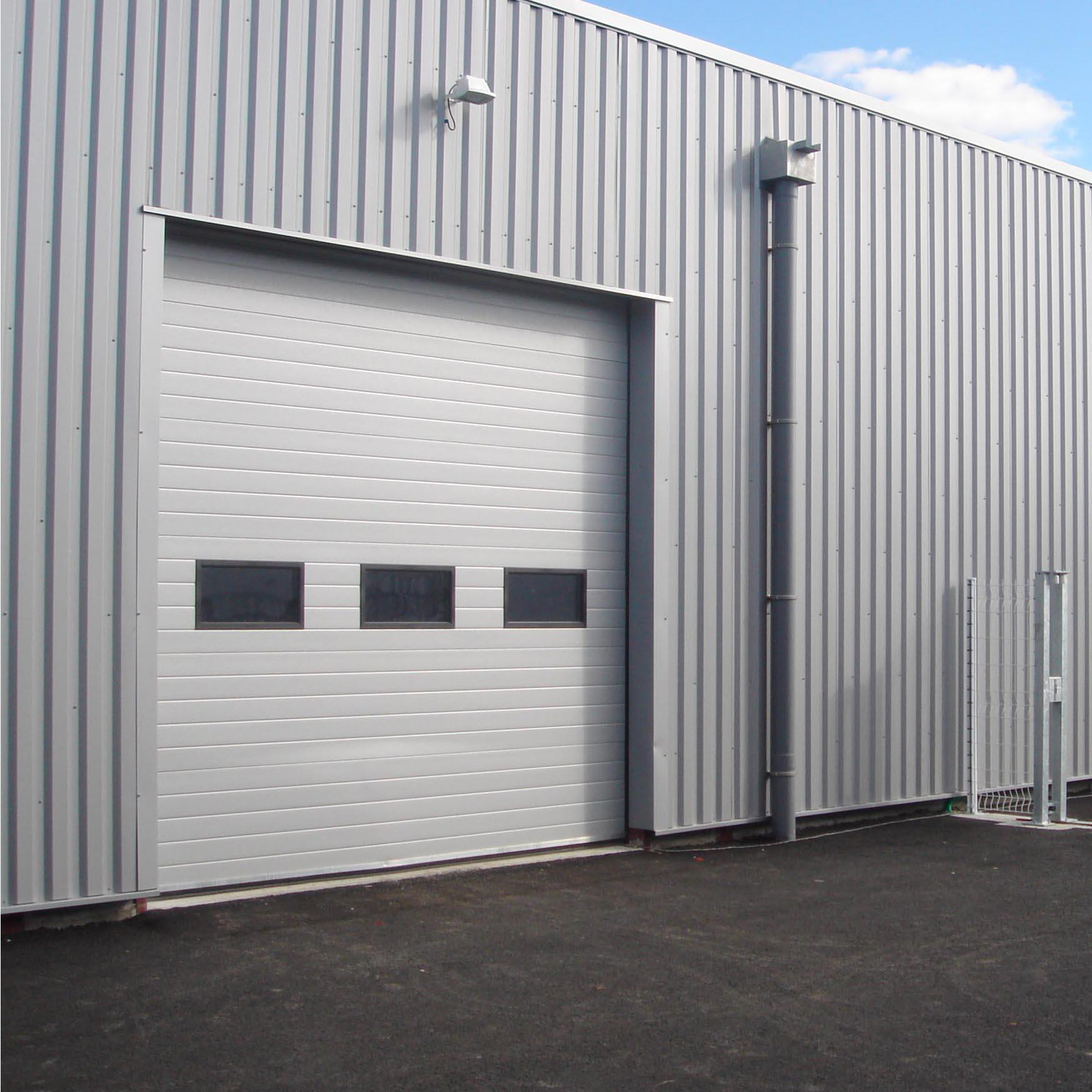 Ready To Ship Vertical Electrical Factory Price Industrial Lifting Door for Factory Or Warehouse