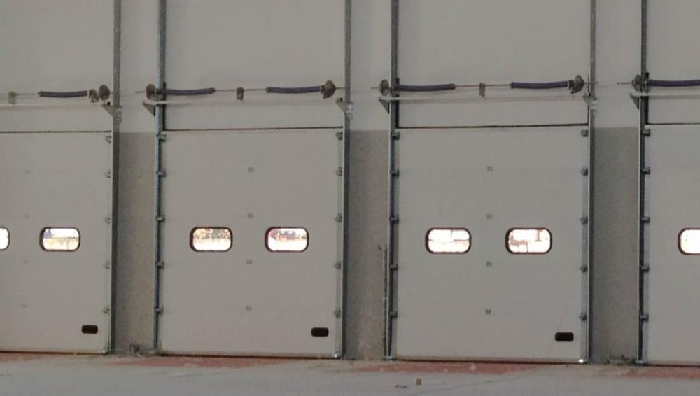 Industrial PPGI Warehouse roll doorAutomatic lifting Door