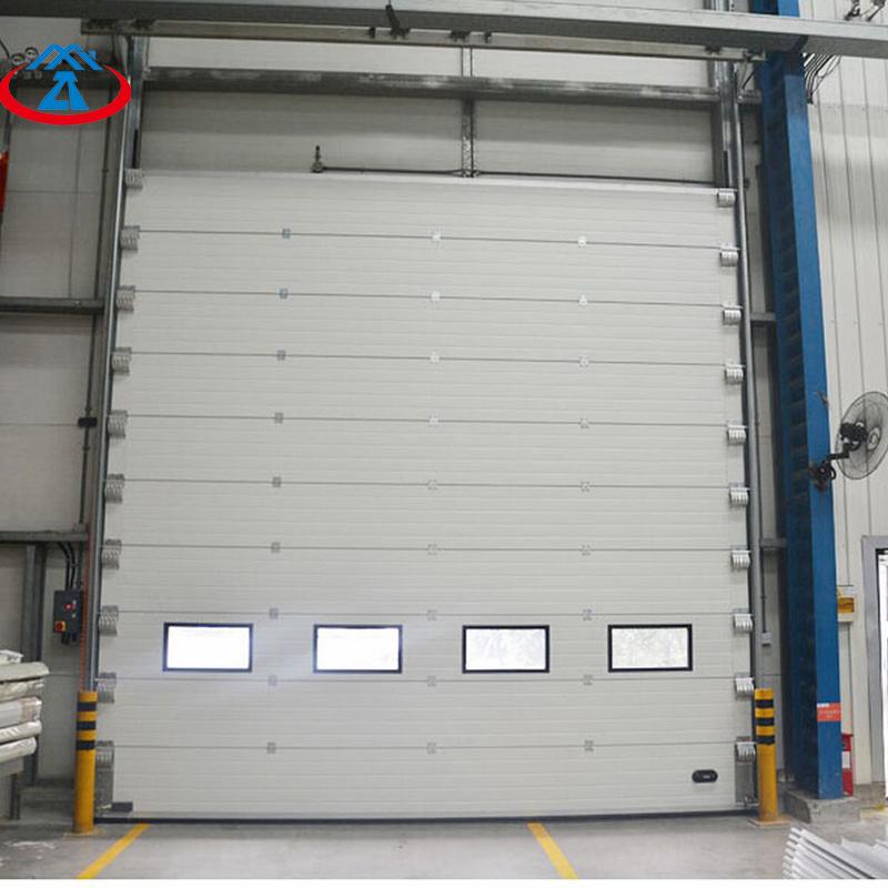 Warehouse Overhand Vertical Lift Industrial Used Steel Automatic Sectional Door