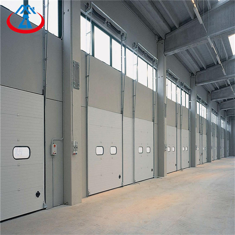 W2500*H3000mm China Automatic Industrial Lift Sectional Steel Door