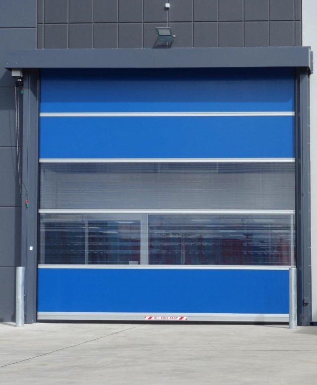 Custom Automatic PVC Fast Rapid Door High Speed Shutter door