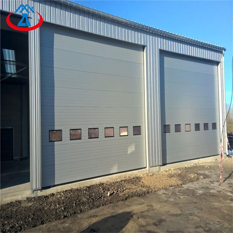 Industrial Overhead Sectional Steel Insulated AutoDoor From China Suppliers