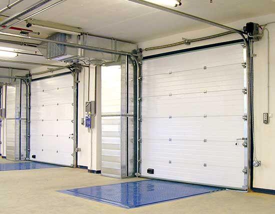 Excellent Quality Electric Galvanized Steel Industrial Lifting Door