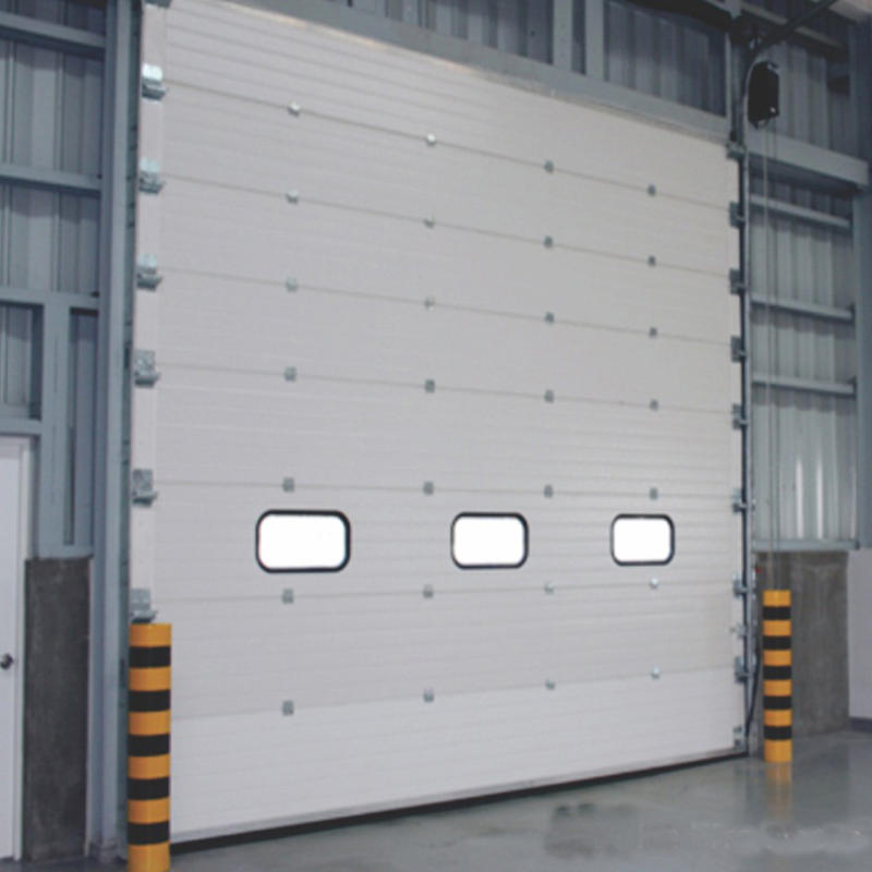 Top QualityHigh Performance Galvanized Steel Industrial Lifting Door Manufacturer
