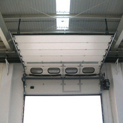 50mm Door Panel Galvanized Steel Material Industrial Lifting Door