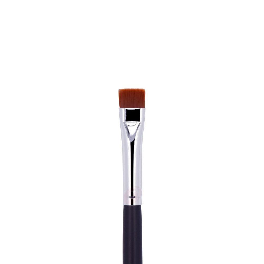 Synthetic hair vegan makeup brushes for eye liner private label eyeliner brush