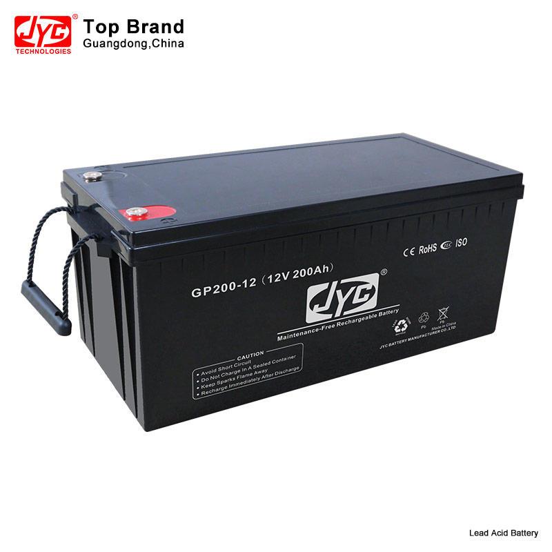 Solar Gel Batteries 12V 200Ah Valve Regulated 12 Volt Agm Lead Acid Portable Battery Storage