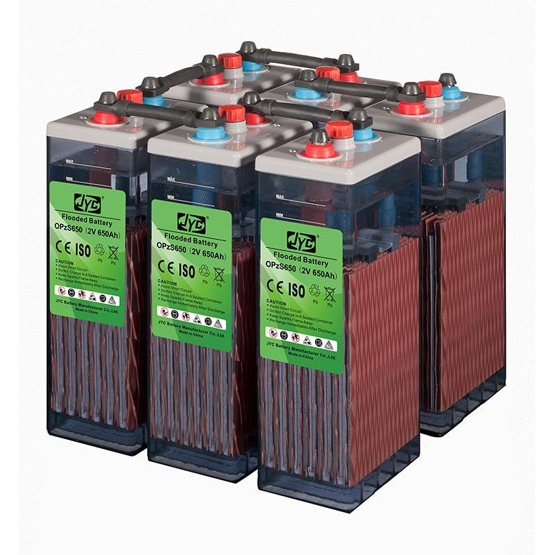Solar UPS Telecom Flooded OPzS Battery 2V 500Ah 600Ah 650Ah 1000Ah 2000Ah 3000Ah