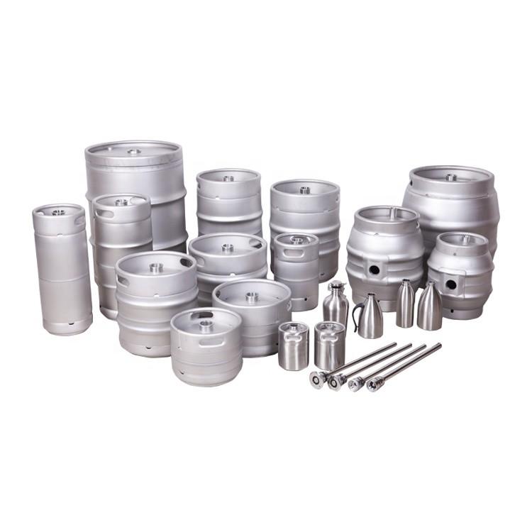 AISI Stainless steel 304 EmptyECO Slim US 1/2 1/4 1/6 EU European Standard 20L 30L 50 liter Beer Keg for sale