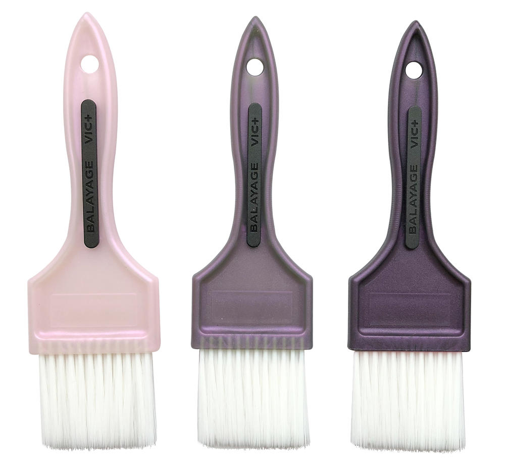 Professional Hair Plastic Salon Dye Applicator BrushDyeing Hair Coloring Application Color Tint Dye brush For Barber Shop