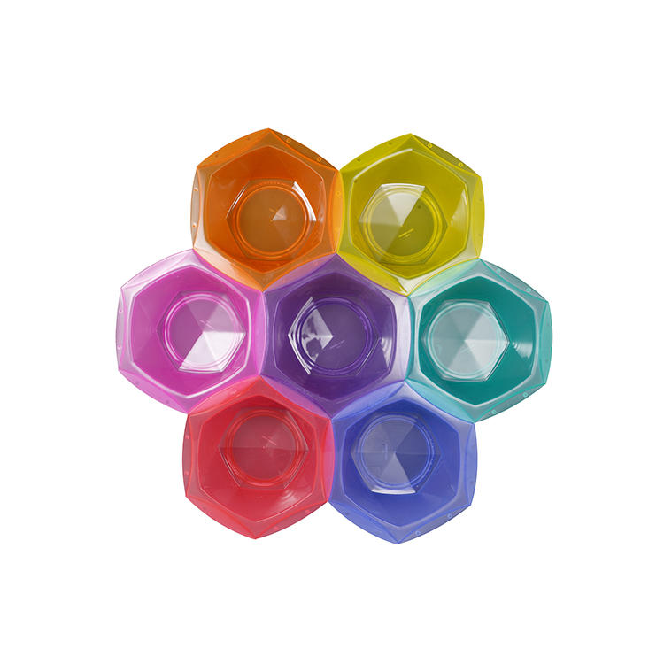 Mix color salon professional hair color bowl set hair dye bowl custom logo tint bowl