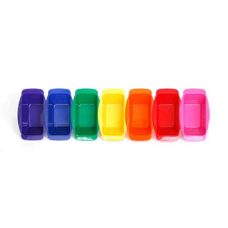 wholesale hair salon equipment plastic tint rubber anti skip non-slip coloring dyeing bowl