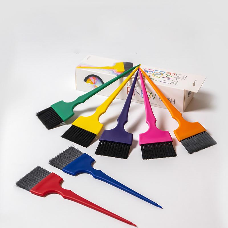 Professional Plastic High Quality Salon Hair Color Dyeing Brush Hair Tinting Brush Set