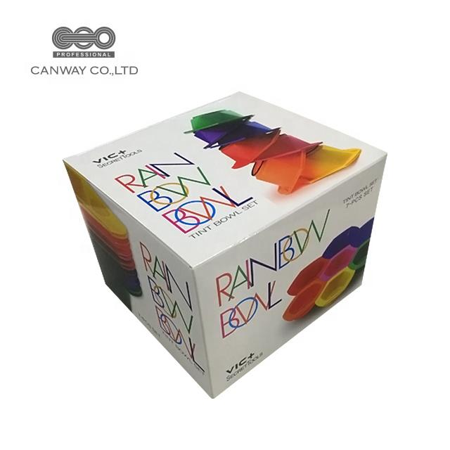 Salon Tools Rainbow Tinting Bowl Set Of 7 Bowls