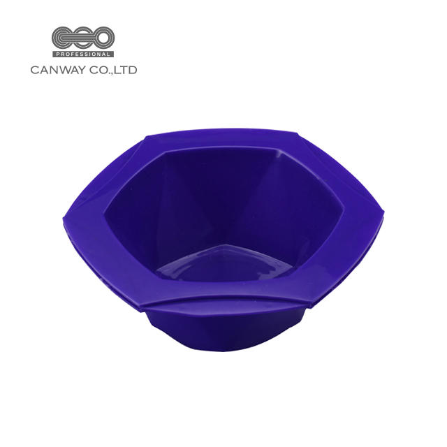 Cheap plastic color recyclable hair dye coloring mixing tint bowl dyeing bowl wholesale