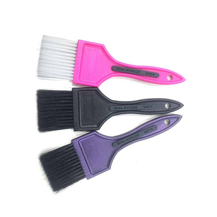 Professional Hair Plastic Salon Dye Applicator BrushDyeing Hair Coloring Application Color Tint Dye brush For Barber Shop
