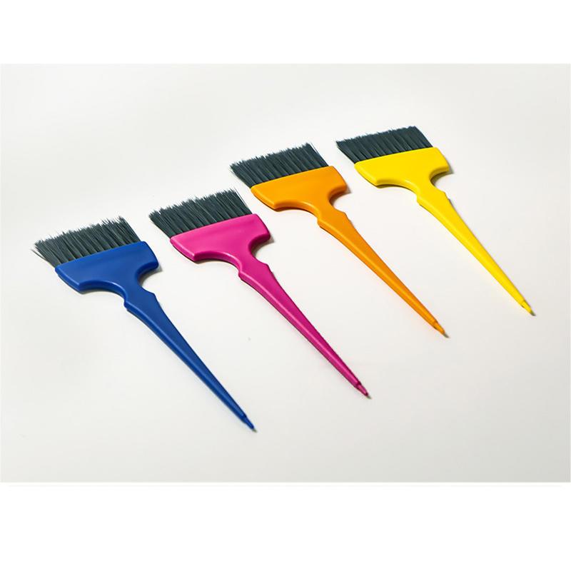 7pcs/set Hair Tint Tool kit Coloring dye brush Hairdressing brushes Plastic dye tools