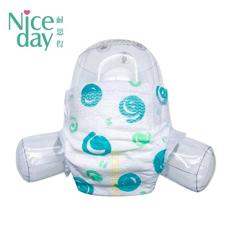 Newborn baby diapers online 3D Leak Prevention Channel Anti-Leak nappies for boy and girl