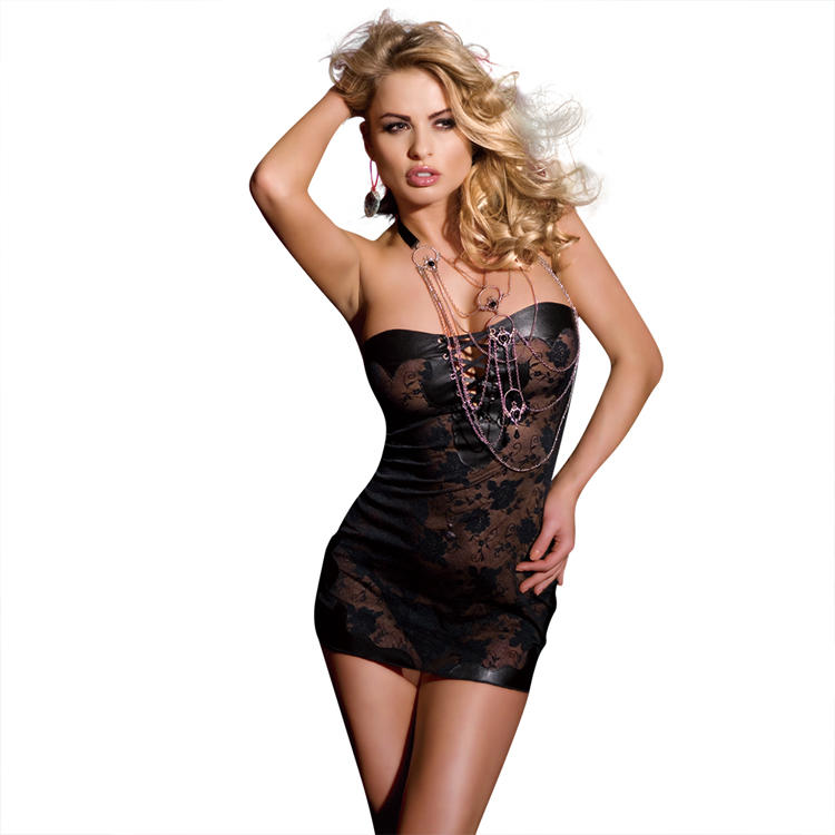 Sunspice top quality hot sale sexy indian night dress for women fat women sexy tight lace dress Sexy clubwear