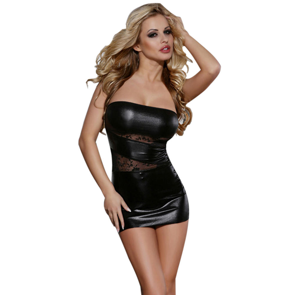 China supplier plus size lace sexy tube tight club dress sexy girl night club wear