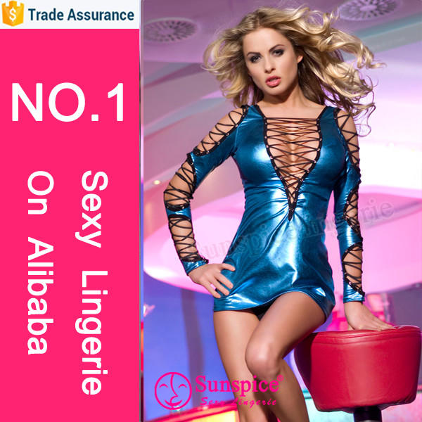 2015 SunSpice New sexy clubwear manufacturer top quality male models in transparent underwear